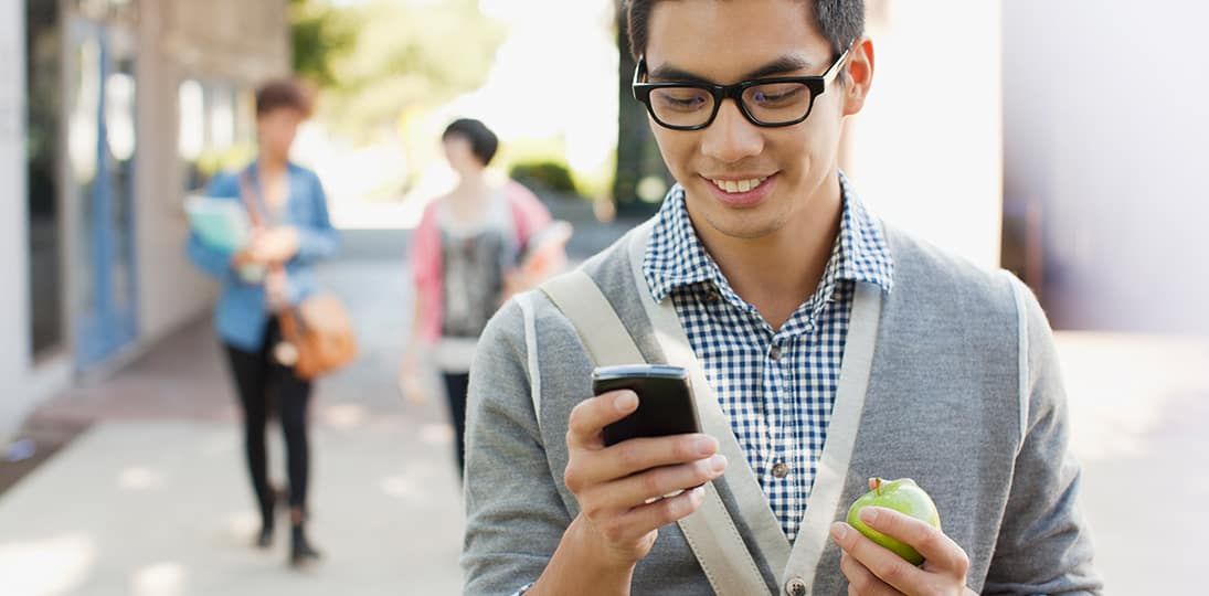Take wayfinding with you with mobile apps for smartphones that give step-by-step directions