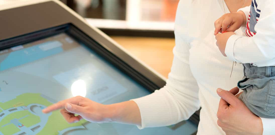 Learn how interactive digital signage in government offices can streamline processes for staff and visitors
