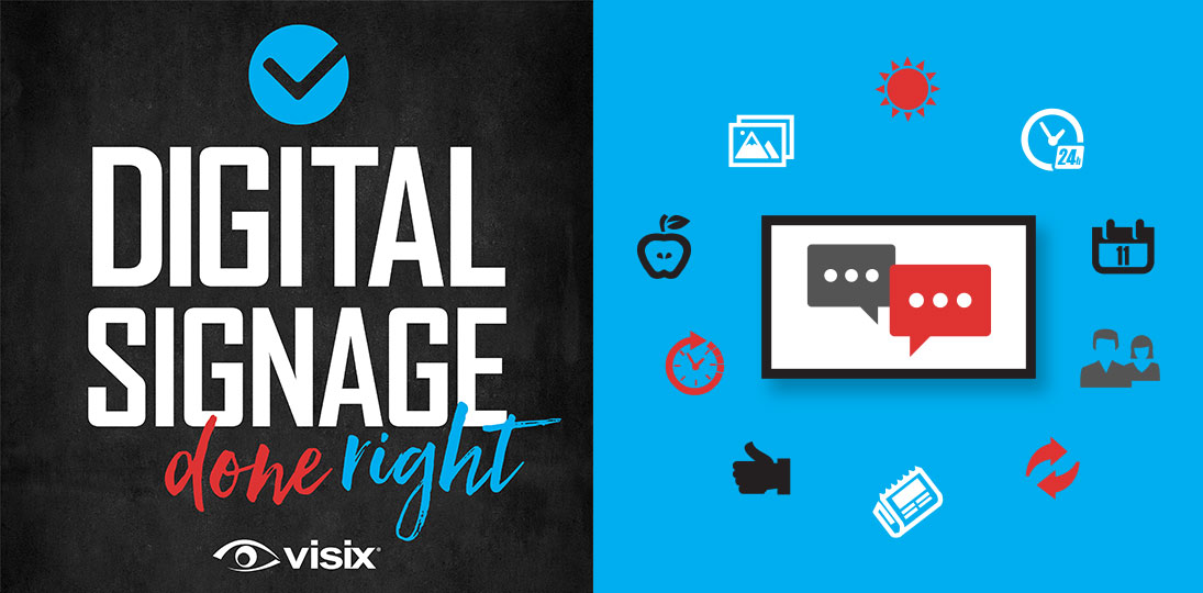 Automated digital signage saves you time and increases audience engagement - listen to our podcast for tips