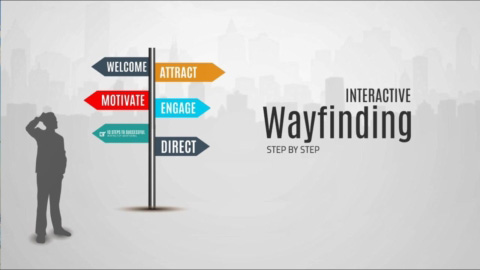 When people visit your facility, you want to make a good impression by guiding them from the moment they step through the doors. Interactive wayfinding gives your audience a convenient one-stop source for information.