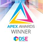 DSE (Digital Signage Expo) APEX Awards winner logo