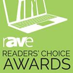rAVe Publications Readers' Choice Awards winner logo